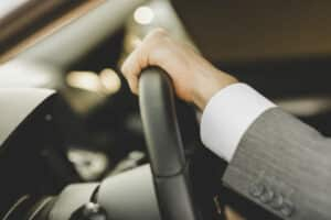 VIP chauffeur service in London. Private limousine with driver.